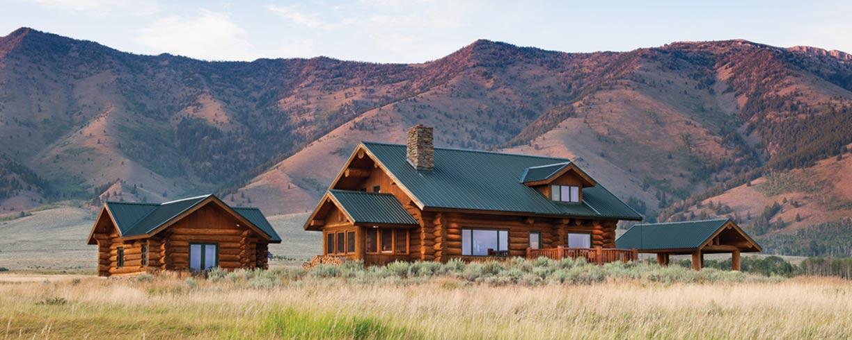 Hilgard Log Builders Montana Log Home Builder West Yellowstone Montana